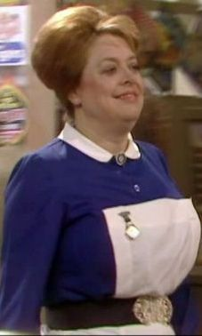 Lynda Baron as Nurse Gladys from 'Open All Hours', from Steve. Open All Hours, Comedy Series, English Actresses, Baron, Nurses, Comedians, Tv Shows, Films, Change