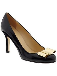 Kate Spade New York Karolina Bow | Piperlime  One of the prettiest pairs of shoe I have seen in a long time!