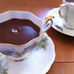 Tea cups, Pastries and Miniature on Pinterest