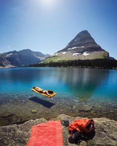 """#adventure , Mountain magic  / Hidden Lake Trail, Glacier National Park /  Travis Burke Photography"