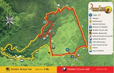 Arenal 1968 Trail Map - A great alternative to hiking Arenal Volcano National Park