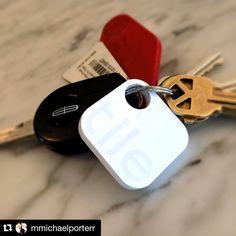 Thanks for being part of Tile #Repost @mmichaelporterr #review  Best invention ever! Love my Tile tracker. #lostkeys #lostwallet #nomore #tiletracker @tiledit #tiledit #tiledit  www.thetileapp.com