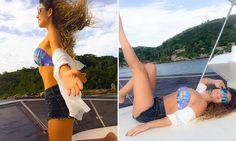Paula Fernandes exibe boa forma