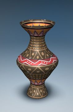 My vase from Let's create! Potery