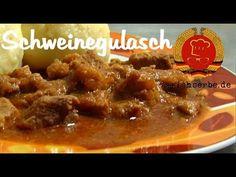 Schweinegulasch (von: erichserbe.de) - Essen in der DDR: Koch- und Backrezepte für ostdeutsche Gerichte | Erichs kulinarisches Erbe