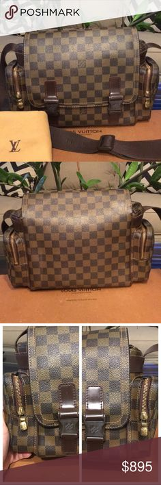 563daaf3d0 Authentic Louis Vuitton Reporter Melville See pics. Date code MI0076.  Manufactured in 2006.