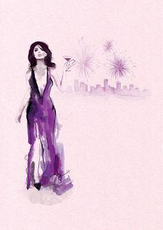 Fashion Illustration by Aldous Massie