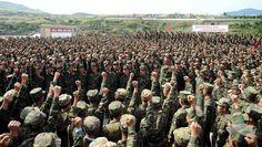 북부피해복구전투에서 새로운 전화위복의 기적을 창조해갈 결의에 넘쳐있는 인민군군인들
