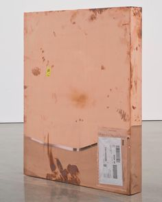 "@work2day on Instagram: ""nice work in copper (Copper FedEx® Medium Framed Art Box © 2011 FedEx 163095 REV 7/11) by Walead Beshty #waleadbeshty #work2day"" Box Art, Framed Art, Copper, Sculpture, Fine Art, Medium, Instagram, Sculptures, Brass"