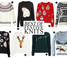 10 Of The Best Christmas jumpers
