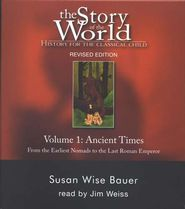 "Story of the World, Vol. 1: Ancient Times 7-Audio CD Set   -  By: Susan Wise Bauer.  One reviewer said, ""Biblical stories intermixed with legends and myths with little clarification to indicate the difference."""