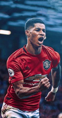 Manchester United Wallpaper, Manchester United Images, Manchester United Players, Football Is Life, World Football, Man Utd Fc, Marcus Rashford, Nike Wallpaper, Football Wallpaper
