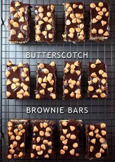 Butterscotch Brownie Bars