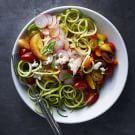 Try the Farmers' Market Salad with Tomato-Basil Vinaigrette Recipe on williams-sonoma.com/