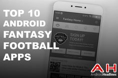 Top 10 Best Fantasy Football (NFL) Apps for Android #android #google #smartphones