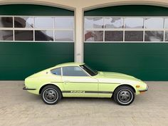 1972 Lime Yellow Datsun for Sale Europe Datsun 240z For Sale, Collector Cars, Cars For Sale, Classic Cars, Restoration, Seeds, Lime, Europe, Japanese