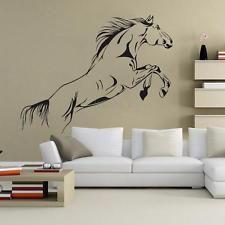 1PCS Stickers Autocollant Mural Cheval Animal Décoration Maison Chambre Amovible