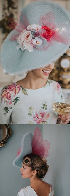 Hand made hatinator hat in pastel tones, perfect for sophisticated wedding guest or Melbourne Cup, Royal Ascot Kentucky Derby, Mother of the Bride Fascinator Hat. Floral Racing fashion wedding guest headpiece. Outfit ideas and inspiration. #springracing #kentuckyderby #derbyoutfits #royalascot #ascothats #derbyhats #Delmarraces #motherofthebride #outfits #fashion #fashionista #affiliatelink #fascinators