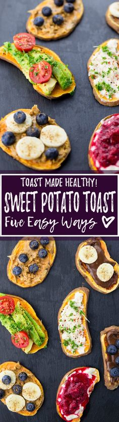 Have you tried sweet potato toast yet? It's insanely delicious, healthy, and completely vegan and gluten-free! Don't miss out on this new breakfast trend! <3 | veganheaven.org