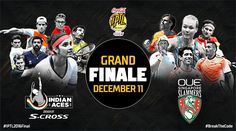 Via IPTL ‏·     It all comes down to this, as Indian Aces will take on OUE Singapore Slammers in the #IPTL2016Final today!  After a 10-day three-nation tour, the Coca-Cola International Premier Tennis League (IPTL) 2016 culminated in an exciting grand finale with an epic showdown between the two table-toppers here at the Gachibowli Indoor Stadium, Hyderabad.  ttps://goo.gl/4zA3TB