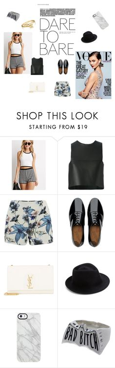 """""""Sin título #23"""" by kiaratknt ❤ liked on Polyvore featuring Forever 21, Fendi, ONLY, FitFlop, Yves Saint Laurent, Eugenia Kim, Uncommon, Social Decay and Bling Jewelry"""