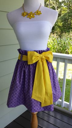 Women's boutique gameday skirt The Derby Skirt in by CollynRaye, $65.00