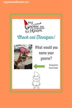 What would you name your gnome? #DIY #creativity #gnomes #kids