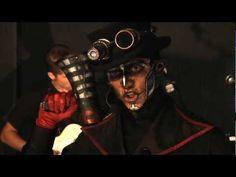brass goggles - steam powered giraffe