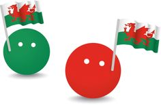 The Dots ... Waving the flag for Wales online