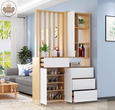 Aliexpress is one of the leading international e-commerce sites. Established in 2010 by Alibaba Group, Aliexpress has brought shopping experience to over 100 million worldwide users. Living Room Partition Design, Living Room Divider, Living Room Tv Unit Designs, Room Partition Designs, Living Room Decor, Foyer Design, Home Room Design, Interior Design Living Room, House Design