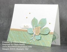 Love of Leaves: Hello - Heartfelt InkspirationHeartfelt Inkspiration