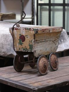 Antique Children's Cart