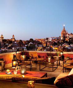 Luna Tapas Bar, Rosewood San Miguel de Allende Hotel, Mexico