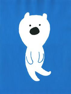 Kanae Sato  #bear #print #illustration
