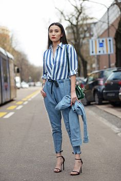 Song Jia | Carolines Mode Streetstyle | Published 16-04-2015