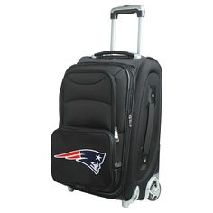 NFL New England Patriots Mojo 21 Carry-On Luggage