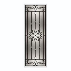 Sanibel 22-inch x 64-inch Wrought Iron with HP Frame