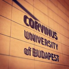 Budapesti Corvinus Egyetem in Budapest, Budapest