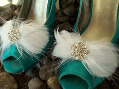 SHOE CLIPS  bridal wedding special occassion by ShoeClipsOnly, $28.00
