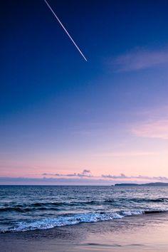 A magical sunset 🌇 on the beach 🌊 👌 ☺