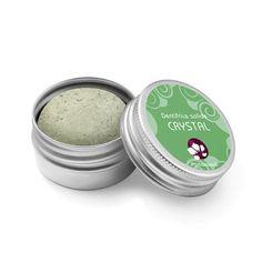 Crystal Dentifrice Solide Vegan Pachamamaï Carbonate De Calcium, Coco Nucifera, Hygiene, Crystals, Vegan, Products, False Lash Effect Mascara, Best Mascara, Green Clay