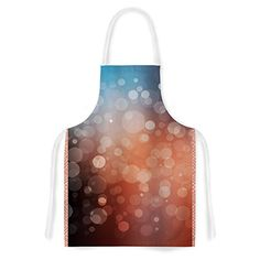 KESS InHouse KESS Original Sunset Orange Bokeh Artistic Apron 31 by 3575 Multicolor *** Find out more about the great product at the image link.