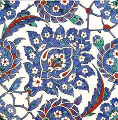 Iznik Ceramic Tiles, Iznik, Turkey