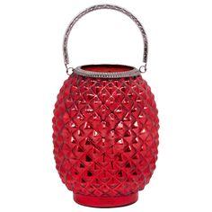 Home Essentials - 8 Red Pineapple Lantern