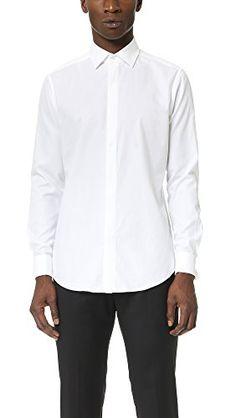 THEORY Theory Men'S Dover Tuxedo Shirt. #theory #cloth #
