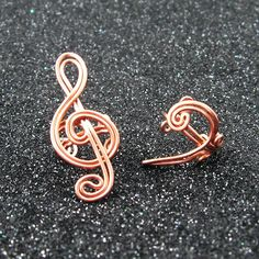 Music Notes earring cuff