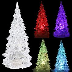 Mini Christmas Tree Auto Changing LED Colors Christmas Party Decor Lamp  #Unbranded #love #me #tbt #cute #follow #followme #photooftheday #onlineshopping #ebay #ebayseller #ebaystore
