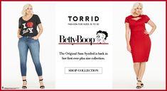 Plus size fashions - Torrid #torridinsider #Bettyboop ,  Clothing #torridinsider #torrid  http://www.planetgoldilocks.com/plussizeFashions2.htm #Plussizefashions see at #planetgoldilocksfashion http://www.planetgoldilocks.com/plussizeFashions2.htm