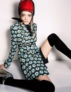 Exclusive Fashion Story by Carine Roitfeld EYE SPY 華麗なるミッション