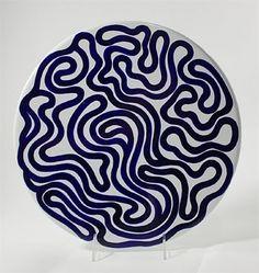 Swirl Platter par Sol LeWitt